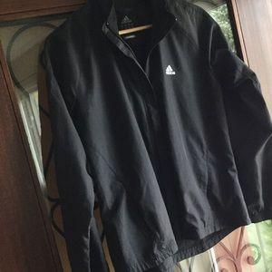 ADIDAS climaproof black running active jacket