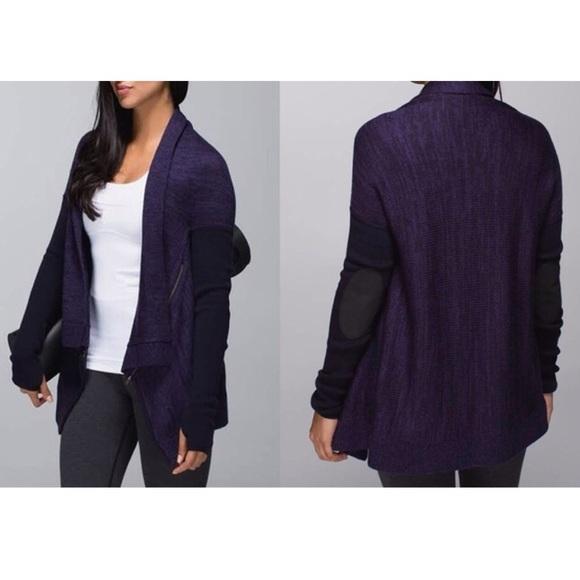 90% off lululemon athletica Sweaters - 🆕Lululemon Wrap It Up ...