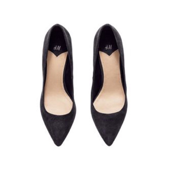 H\u0026M Shoes | New Hm Black Pointy Suede