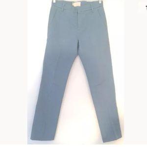 Band of Outsiders Pants - Band of Outsiders Blue Straight Leg Pants