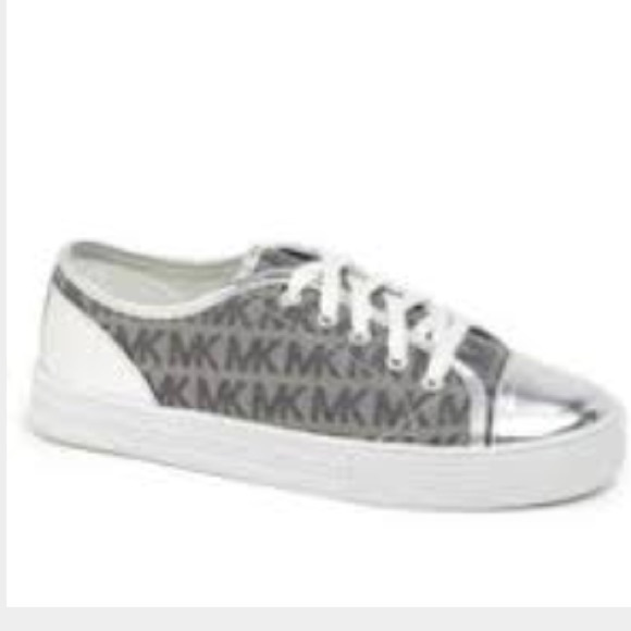6a416d85c2949 Buy silver mk shoes   OFF66% Discounted