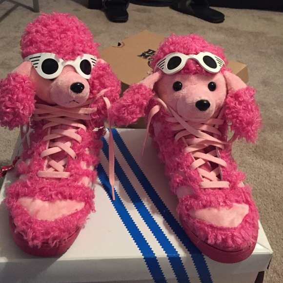 the best attitude 81bcc b1896 Jeremy Scott x Adidas Shoes - Jeremy Scott Poodle shoes