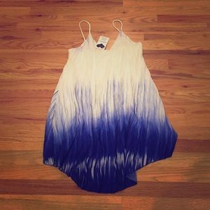 Blue Ombré Tank Dress - Size S