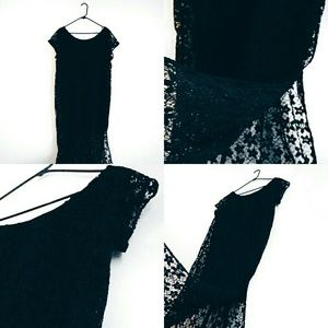 Black Lace Dress | Xhilaration