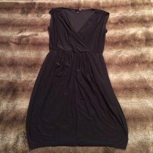 Aqua Black Bubble Dress
