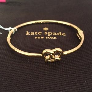 Kate Spade Pretzel bracelet