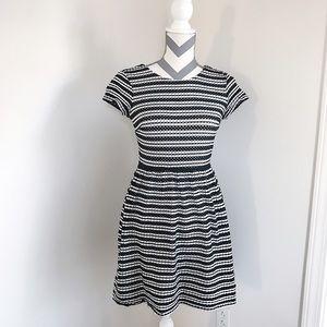 Ann Taylor Black & White Dress