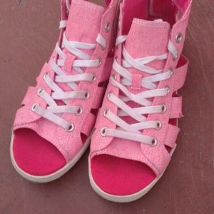 92 converse shoes neon pink converse gladiator