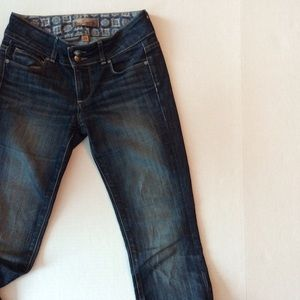 Paige Hidden Hills high rise bootcut denim size 24
