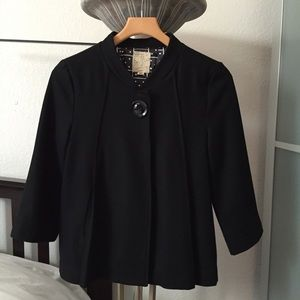 Tulle 3/4 Sleeve Coat