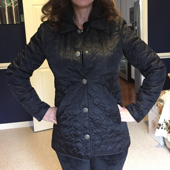 Coach Jackets Coats Quilted Coat Poshmark