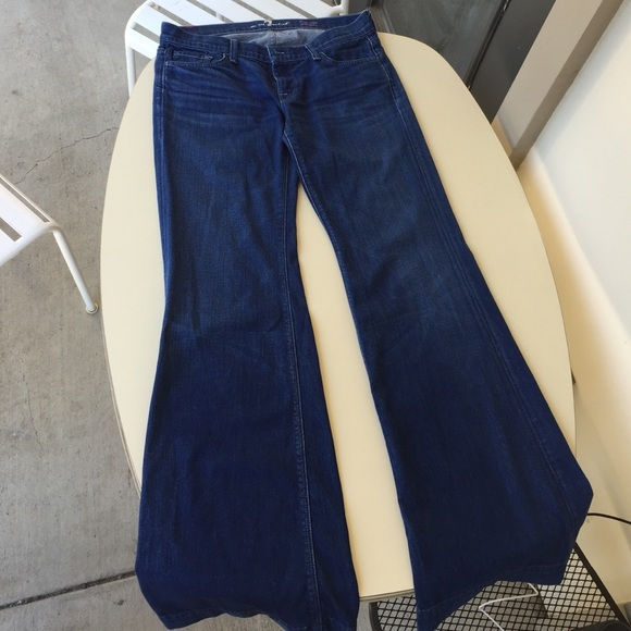 80% off 7 for all Mankind Denim - 7 For All Mankind Low Rise ...