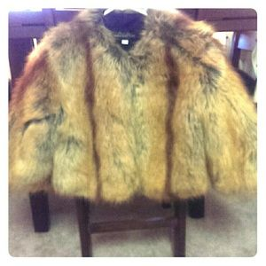 Fabulous Furs Jackets & Blazers - Faux Fox Jacket