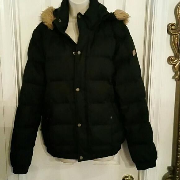 Adidas Neo Label puffer hoodie jacket down blend