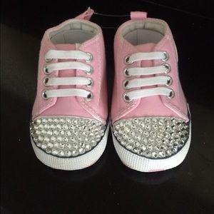 e5b5508b9ed7 Converse Shoes - Swarovski Crystal Baby Converse