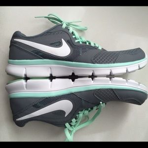 Nike Shoes - Nike Flex Experience Run 3 Grey   Mint ed3bf631e52