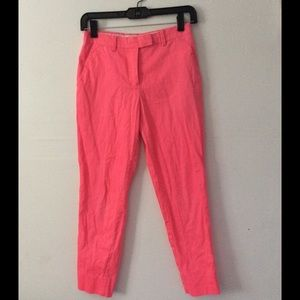 H&M Pink Ankle Pants