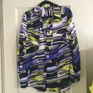 Alfani Abstract print Top
