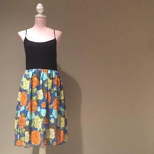 *** Sage tank dress size M
