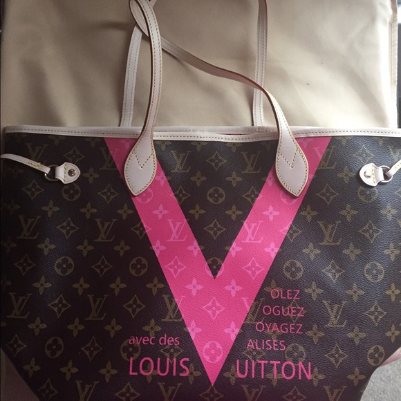 b49f632e862e Louis Vuitton Handbags - LV Limited Edition Grenade Monogram V Never Full