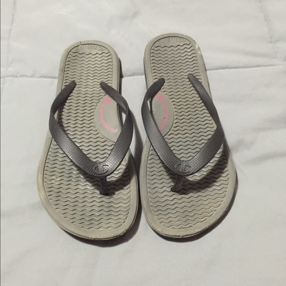 076c7175796a80 Champion Shoes - Size 7 Champions Women s Athletic Flip Flops