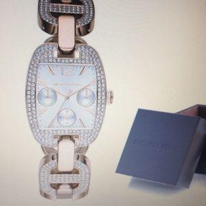 Michael Kors pave crystal woman's watch