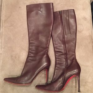louboutin knock-off - Christian Louboutin Shoes | Over the Knee Boots - on Poshmark
