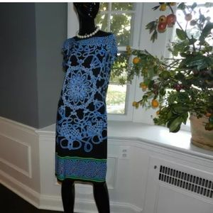 St. Tropez Dresses & Skirts - St. Tropez Blue Shift Dress