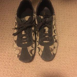 Coach size 10 tennis shoes