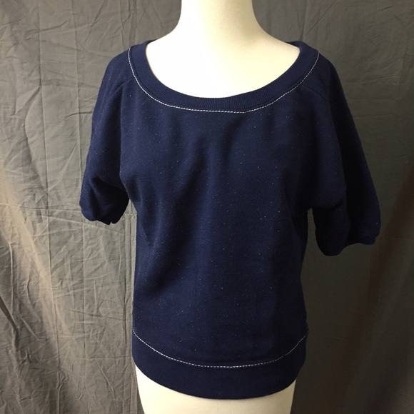 53% off Old Navy Sweaters - *SOLD* Old Navy Blue Short Sleeve ...