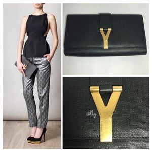 33% off Yves Saint Laurent Handbags - SOLD!!!! YSL Y-mail silver ...