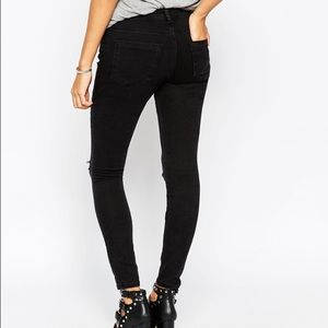ASOS Jeans - Brand new* ASOS Whitby low rise jeans ripped knees