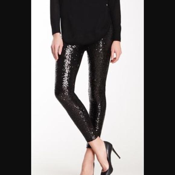 655f574dfe7 Black Sparkle Leggings