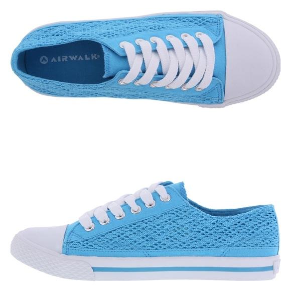 Airwalk Women s retro Oxford blue crotchet shoes 1105d9b0e