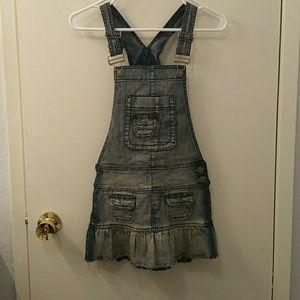 Hydraulic Dresses & Skirts - Hydraulic denim jean overall dress