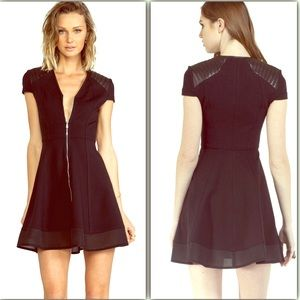 Cut25 by Yigal Azrouel Dresses & Skirts - Cut 25 by Yigal Azrouel Zipper Front Ponte Dress