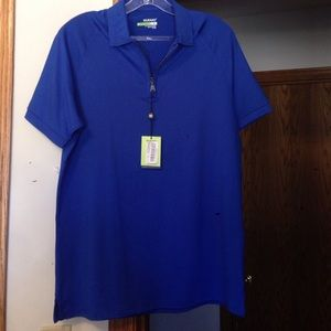Murano Tops - NEW!!!    ROYAL BLUE ACTIVE WEAR SHIRT