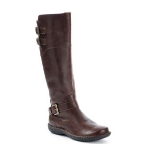 50% off Born Shoes - B.O.C. Brown Walsh Casual Riding Boot wide ...