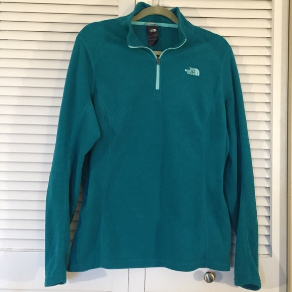 the north face jackets amp blazers north face teal 14 zip