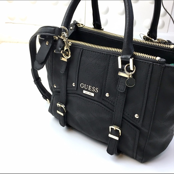 Guess Multi Compartments Black Satchel (vegan). Listing Price   45. Your  Offer aa5b2dfcee57d