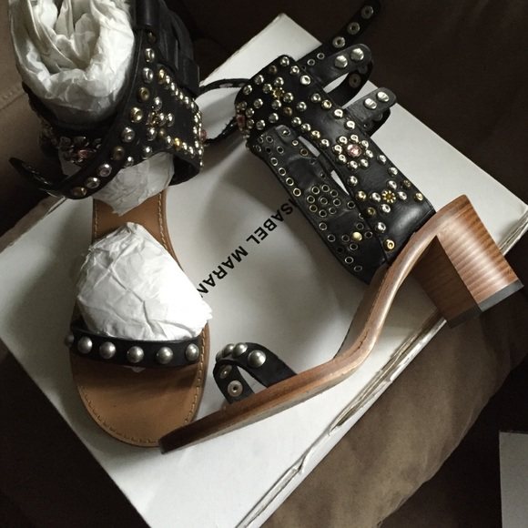 1e3c3b6b88a Isabel Marant Shoes - Isabel Marant Caroll Sandals Black Size 38