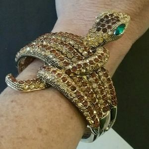 Meghan Fabulous  Jewelry - Meghan Fabulous Snake Bangle