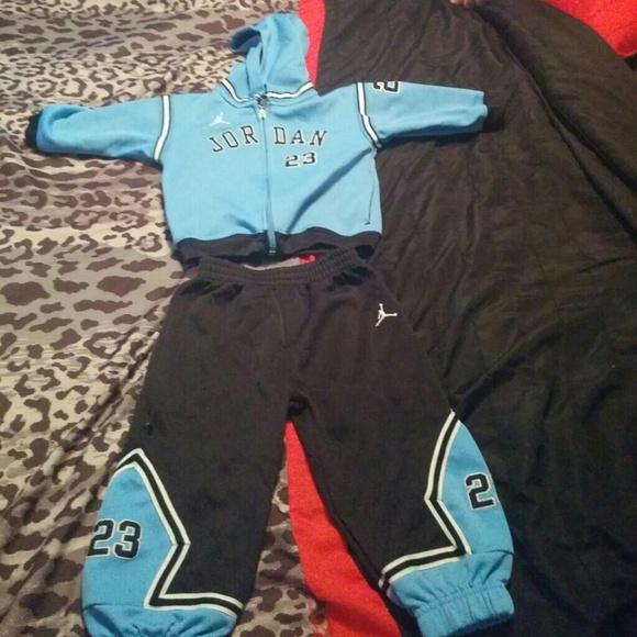 Jordan Sweat Suit 8 Month