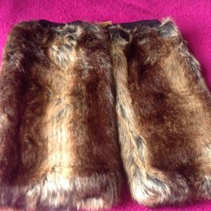 Accessories - THICK FAUX FUR WARMER