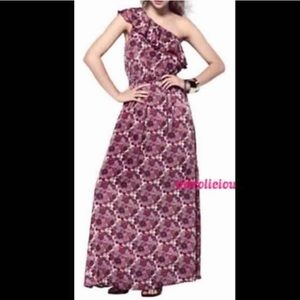 Liberty of London Dresses & Skirts - Maxi one shoulder floral spring/summer dress