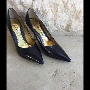 J. Renee Shoes - Navy Blue Heels