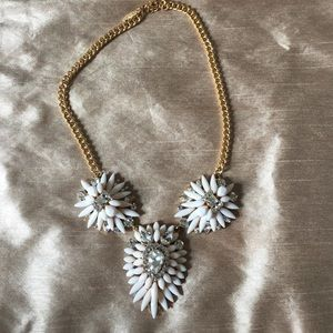 Natasha adjustable statement necklace