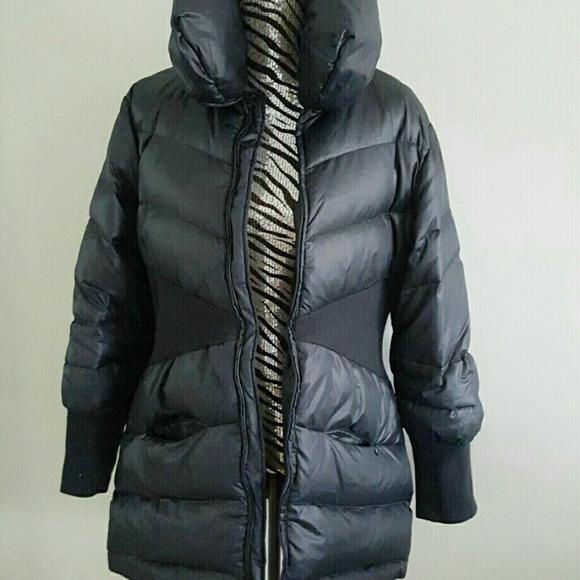 74% off bebe Jackets & Blazers - FLASH SALE!! BeBe down coat from ...