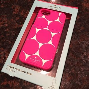 kate spade Accessories - Kate Spade silicone card slot iPhone 5/5s case