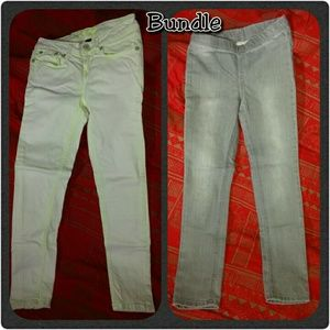 Request Jeans (green) and Cherokee (gray)